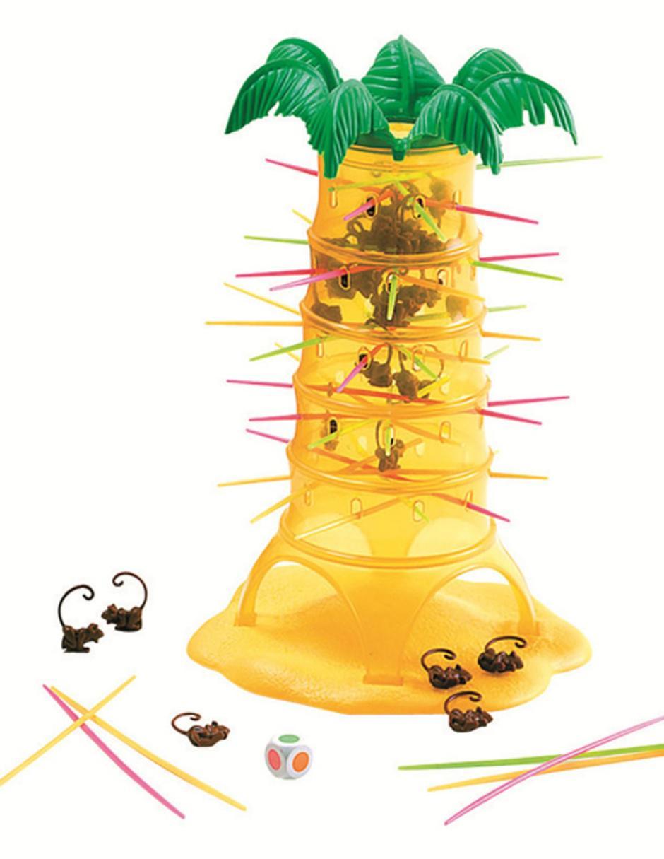 Mattel Juego De Mesa Monos Locos
