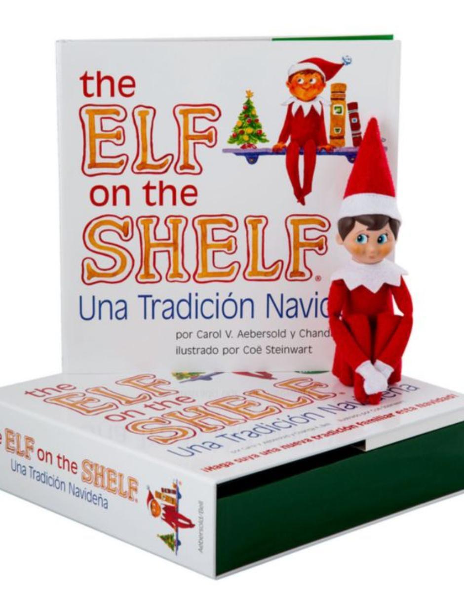 Disney Libro The Elf on the Shelf con Niño Duende