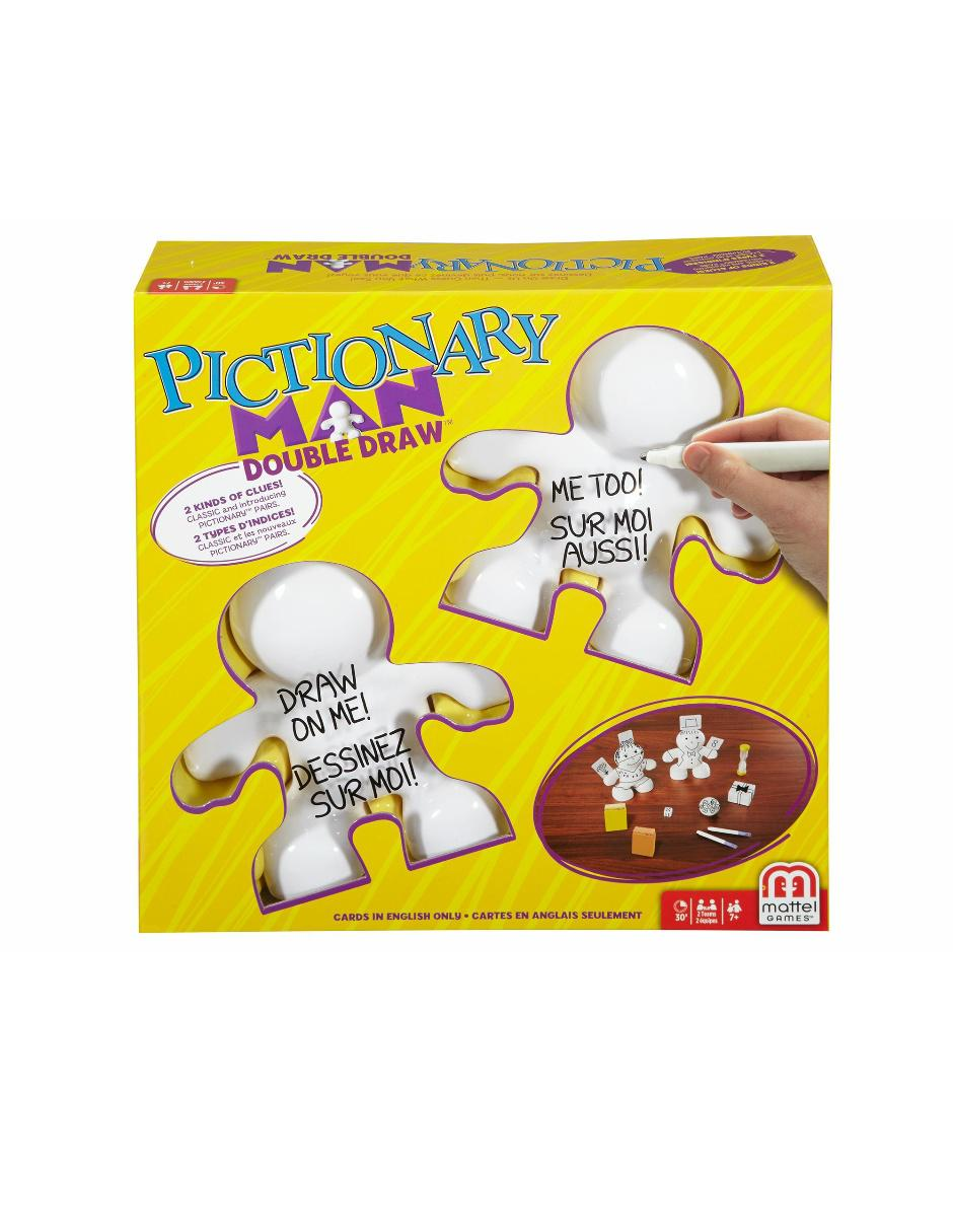 Pictionary Man Man Doble Doble Pictionary Mattel Reto jGLqzSUMVp