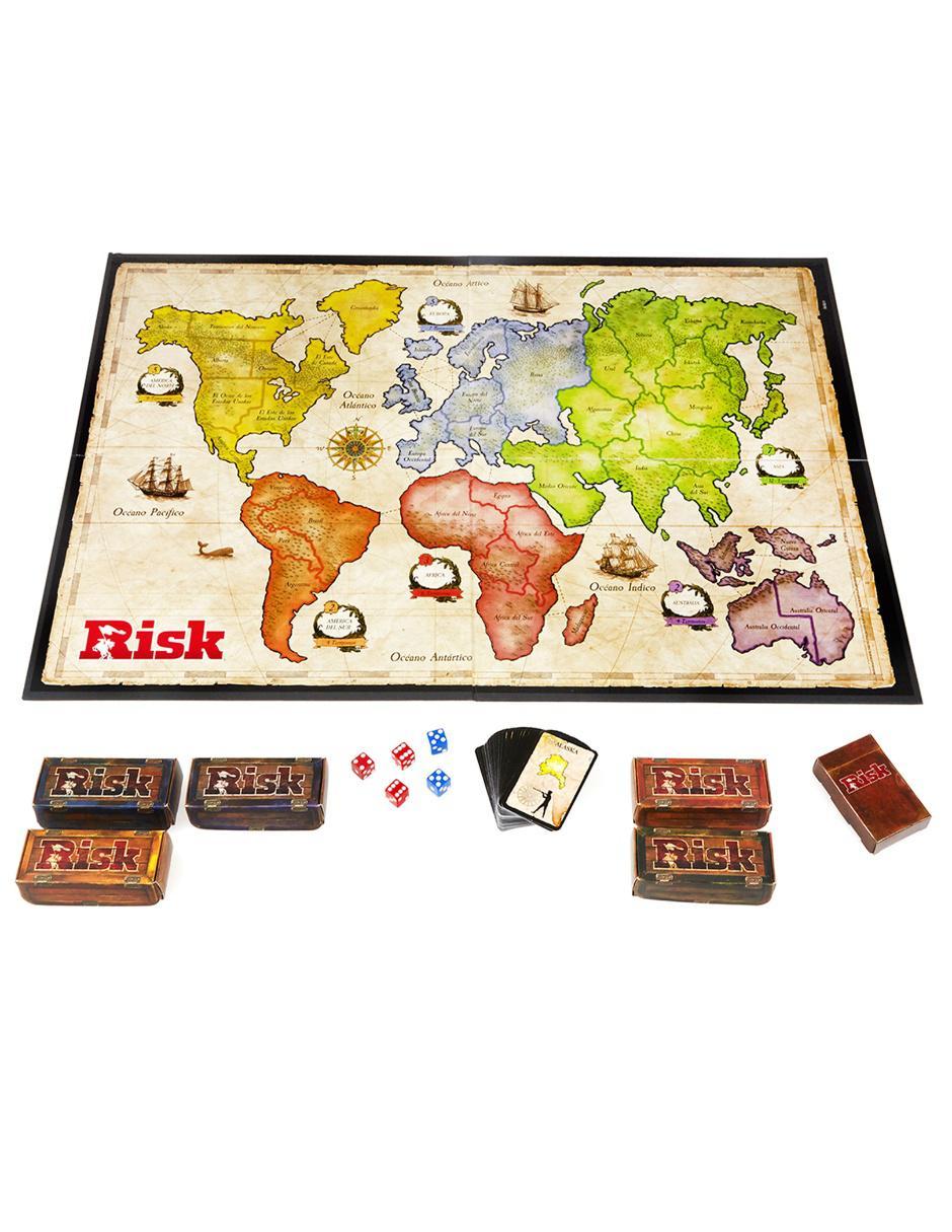 Risk Nuevo Hasbro Gaming