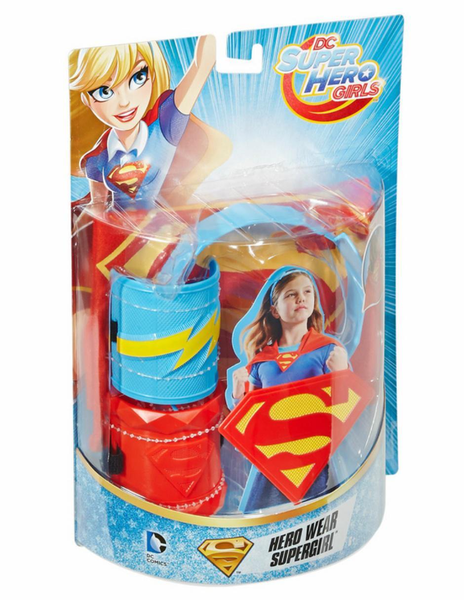 Accesorios Super Hero Girls Supergirl 7ae3e402bedd9