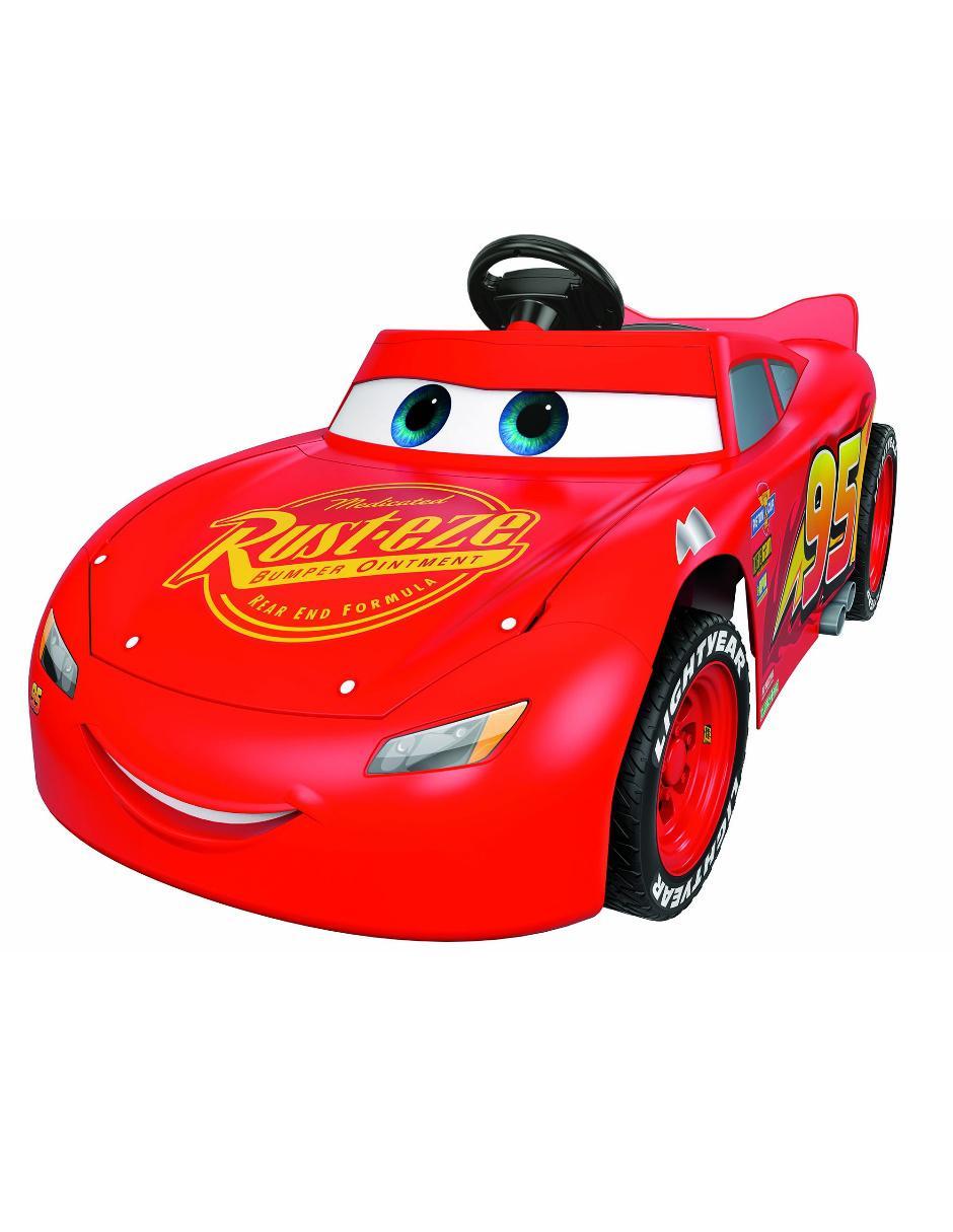 801f04a29 Carro Eléctrico Power Wheels Rayo Mcqueen