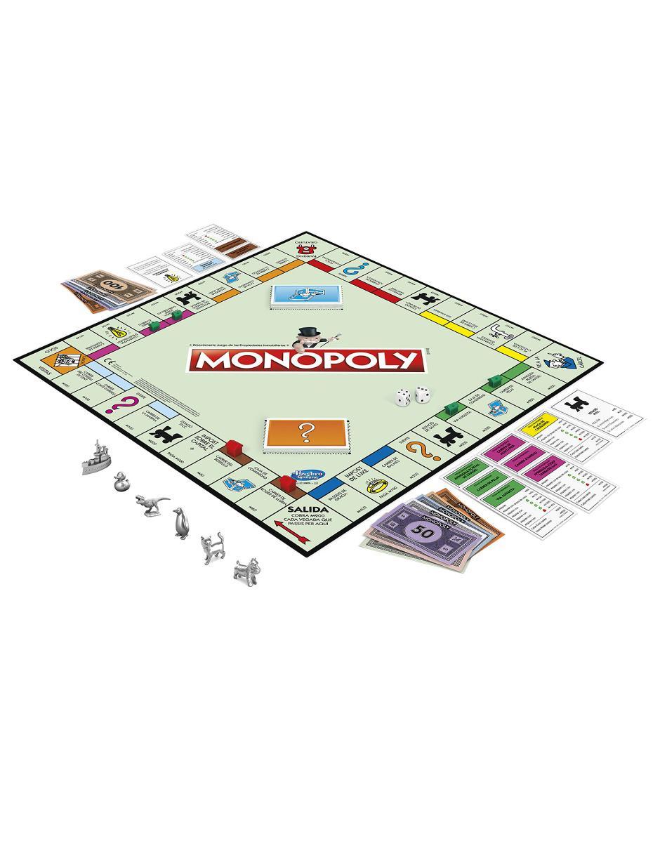 Juego De Mesa Hasbro Monopoly Clasico
