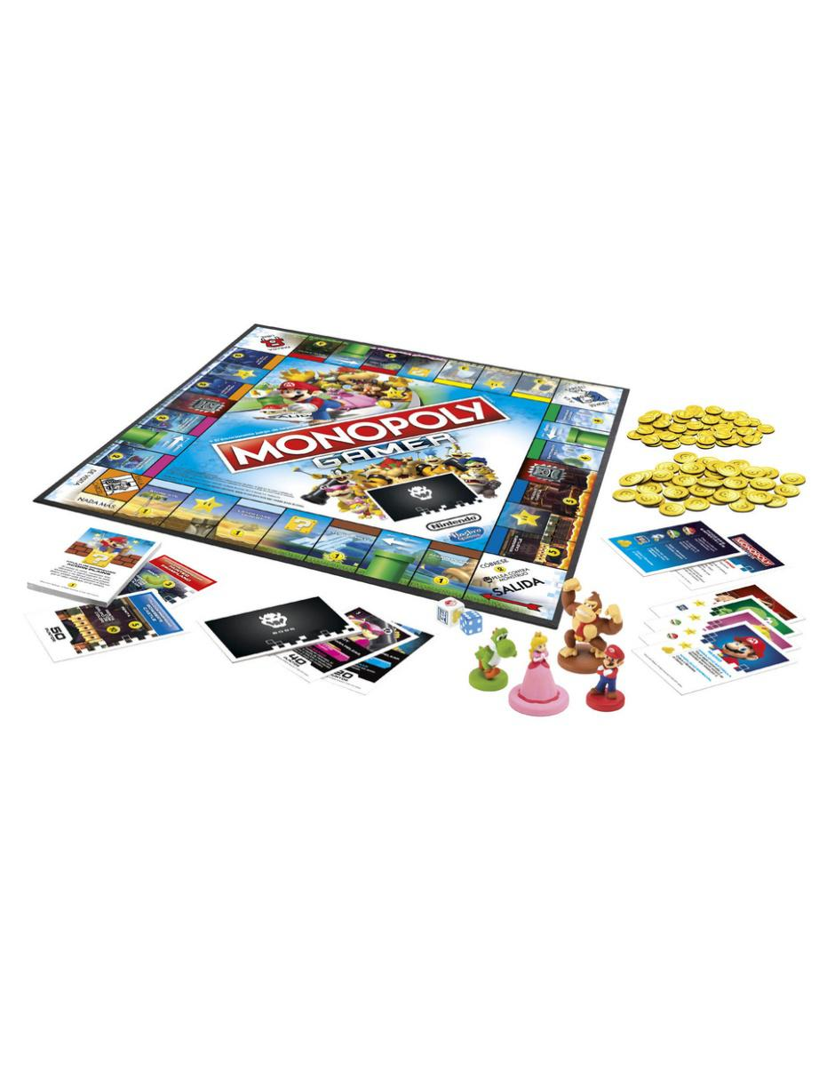 Juego De Mesa Hasbro Monopoly Gamer