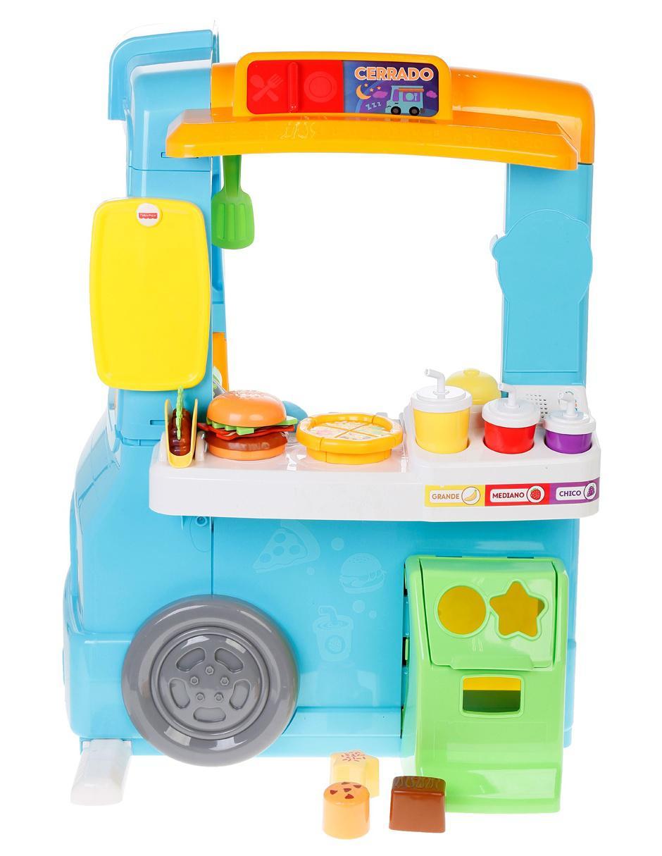 Set De Juego Food Truck De Aprendizaje Fisher Price Precio Lista