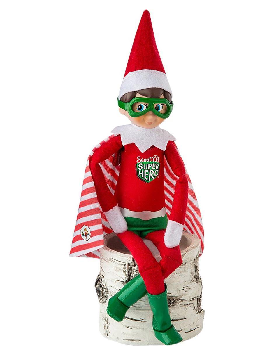 Conjunto de Superhéroe para Duende Elf On The Shelf
