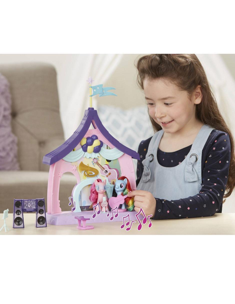 8d0947d5ecf COMPARTE ESTE ARTÍCULO POR EMAIL. Set Pinkie Pie Clase de Música y Postres My  Little Pony