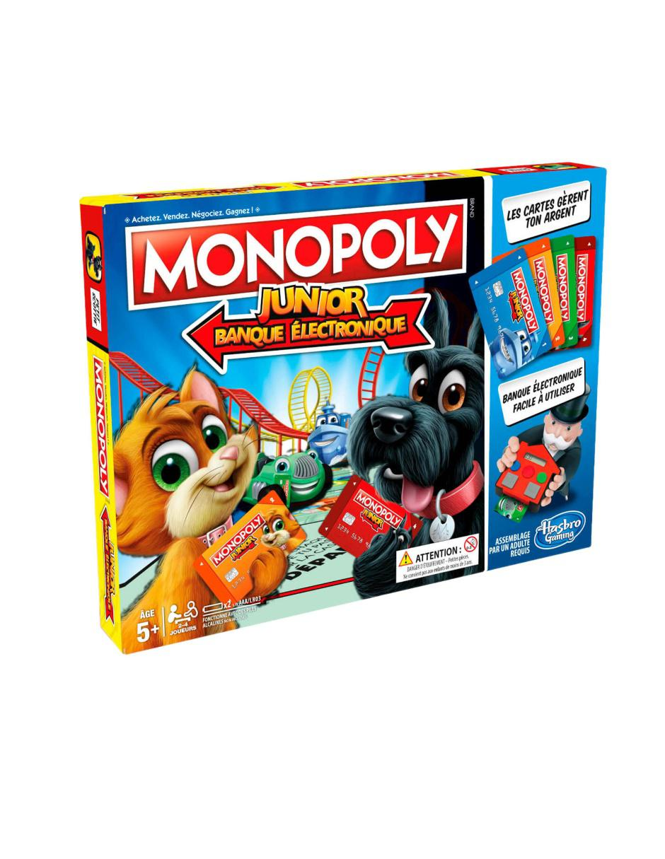 Monopoly Junior Banco Electronico Hasbro Gaming