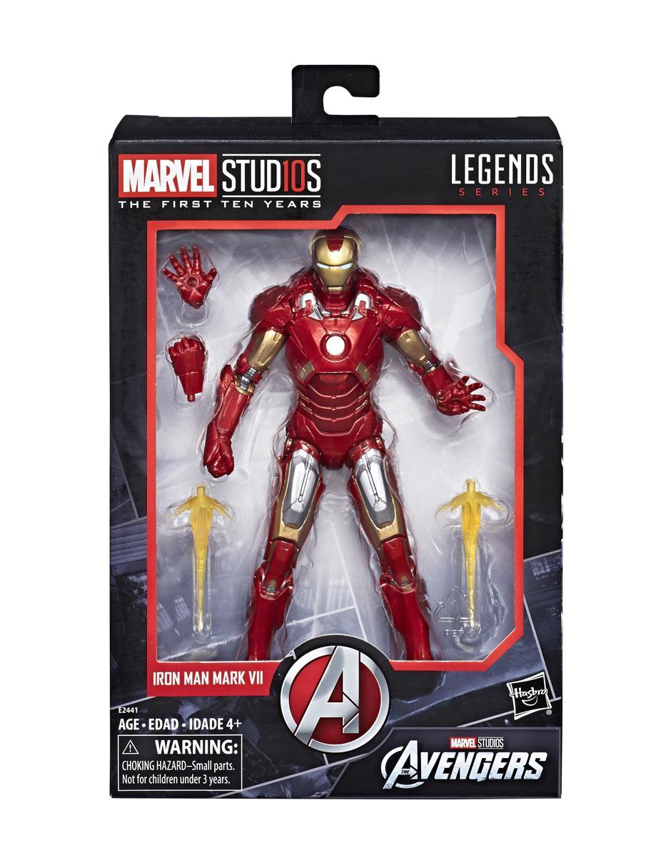 Marvel Figura Man De Acción Iron Studios Mark Hasbro Vii dCexoB