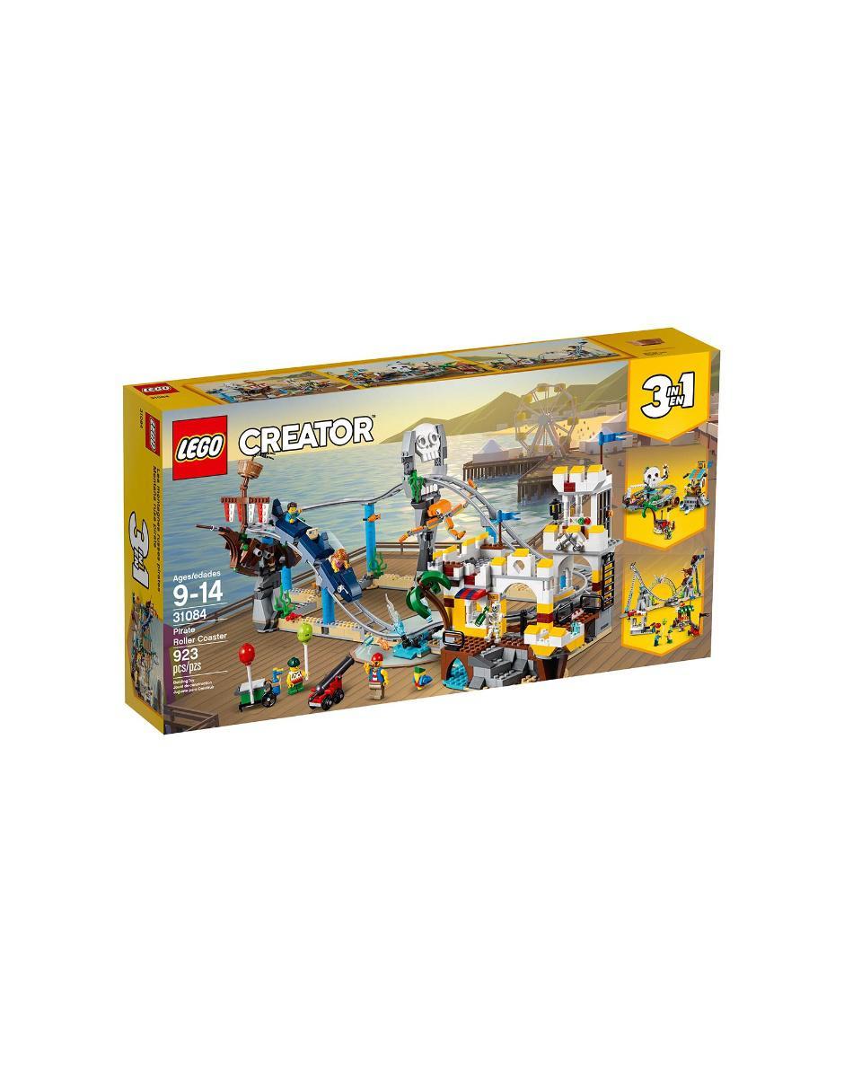 4e7110d1015 Set de Construcción Montaña Rusa Pirata Lego Precio Lista