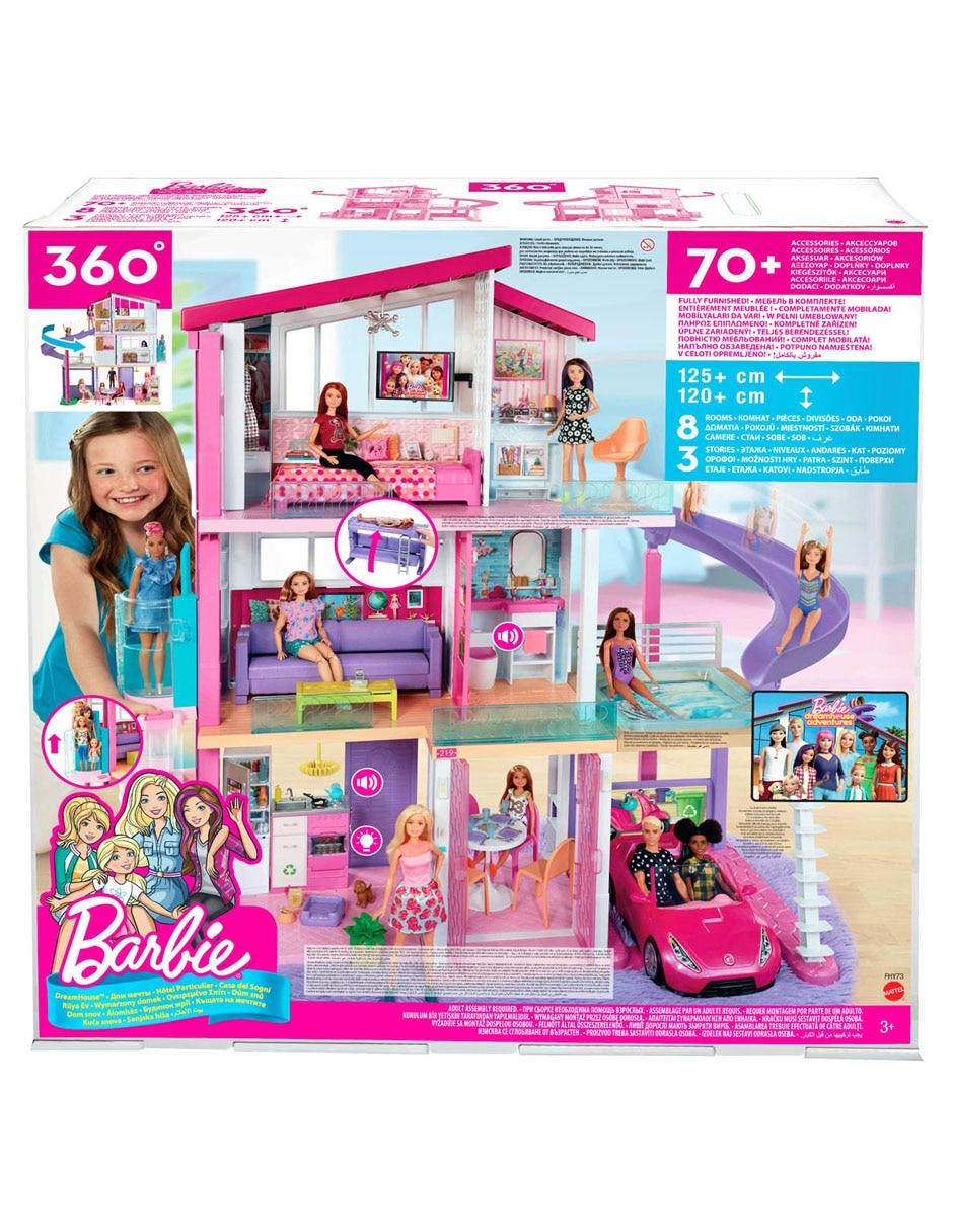 Set De Casa De Los Sueños Barbie