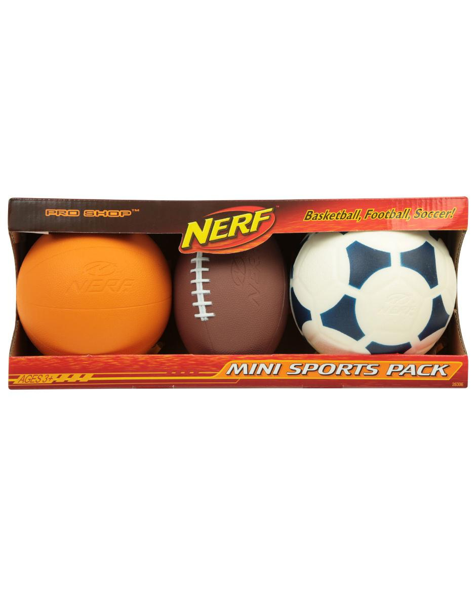 Balones Multipack Nerf Sports a69aa6748b094