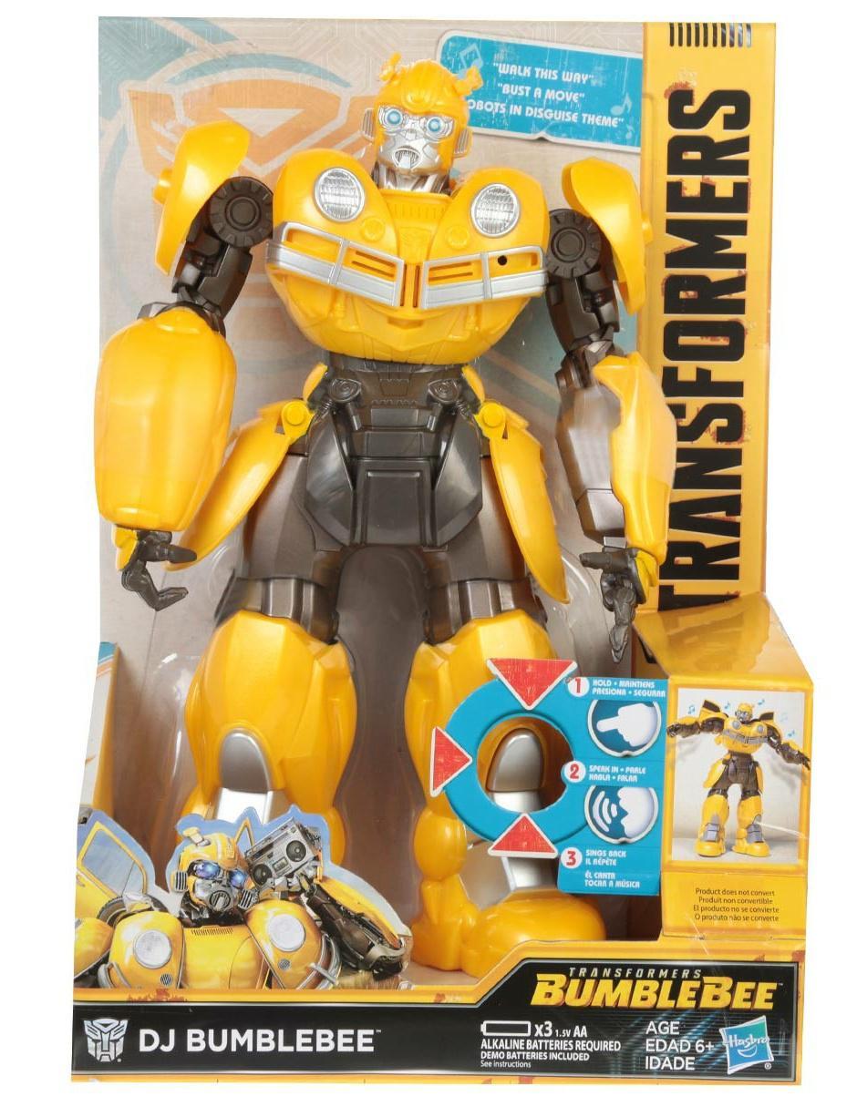 Figura Transformers Hasbro De Acción Dj Bumblebee wuXiZOPkT
