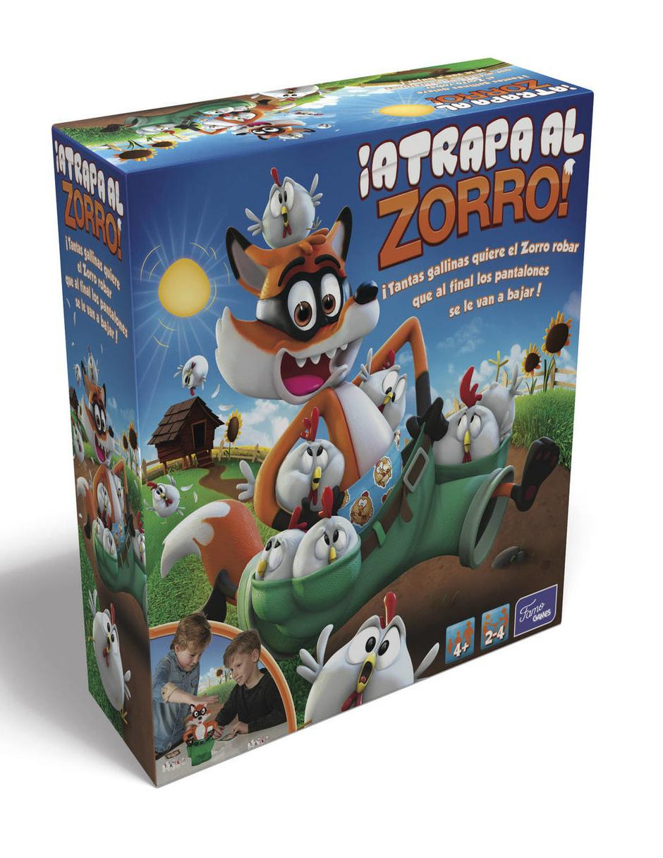 Juego De Mesa Atrapa Al Zorro Famosa