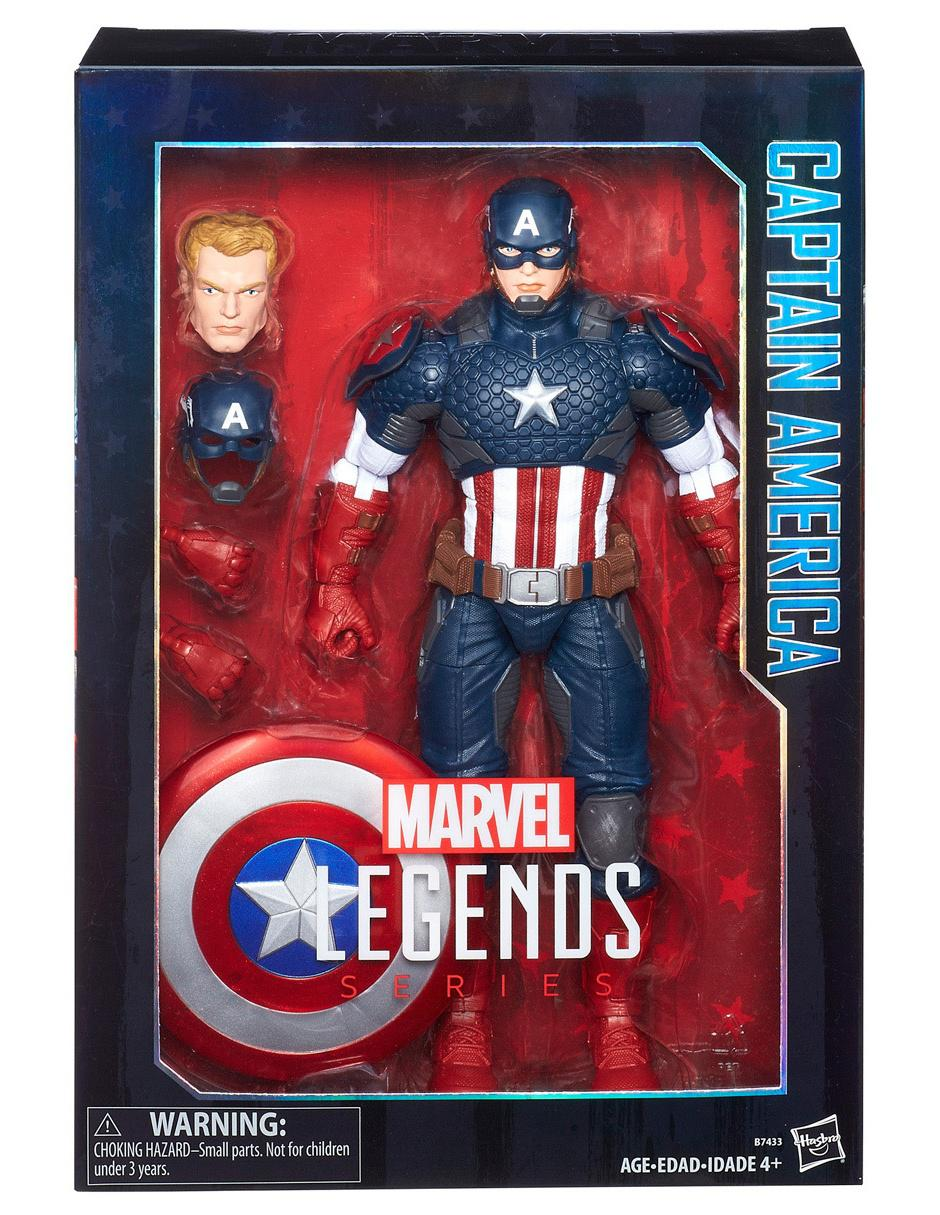 CAPITAN America Marvel Legends Series Figura