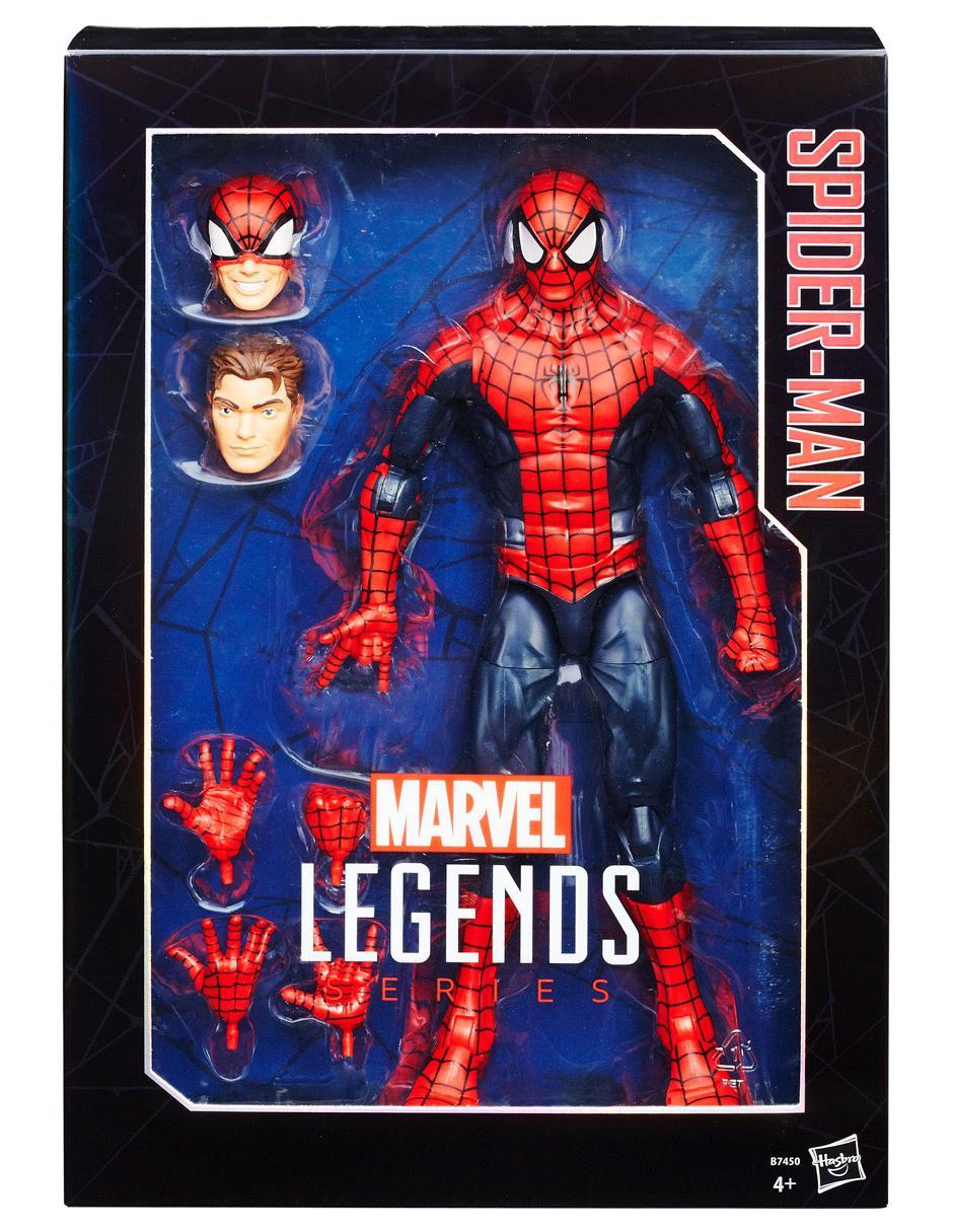 b4b4d6437 Figura de Acción Spider-Man Hasbro Marvel Legends Series