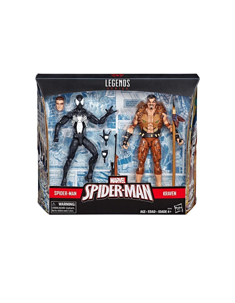 Y Hasbro Set Figuras De Marvel AcciónSpiderman Kraven CtxsQdhr
