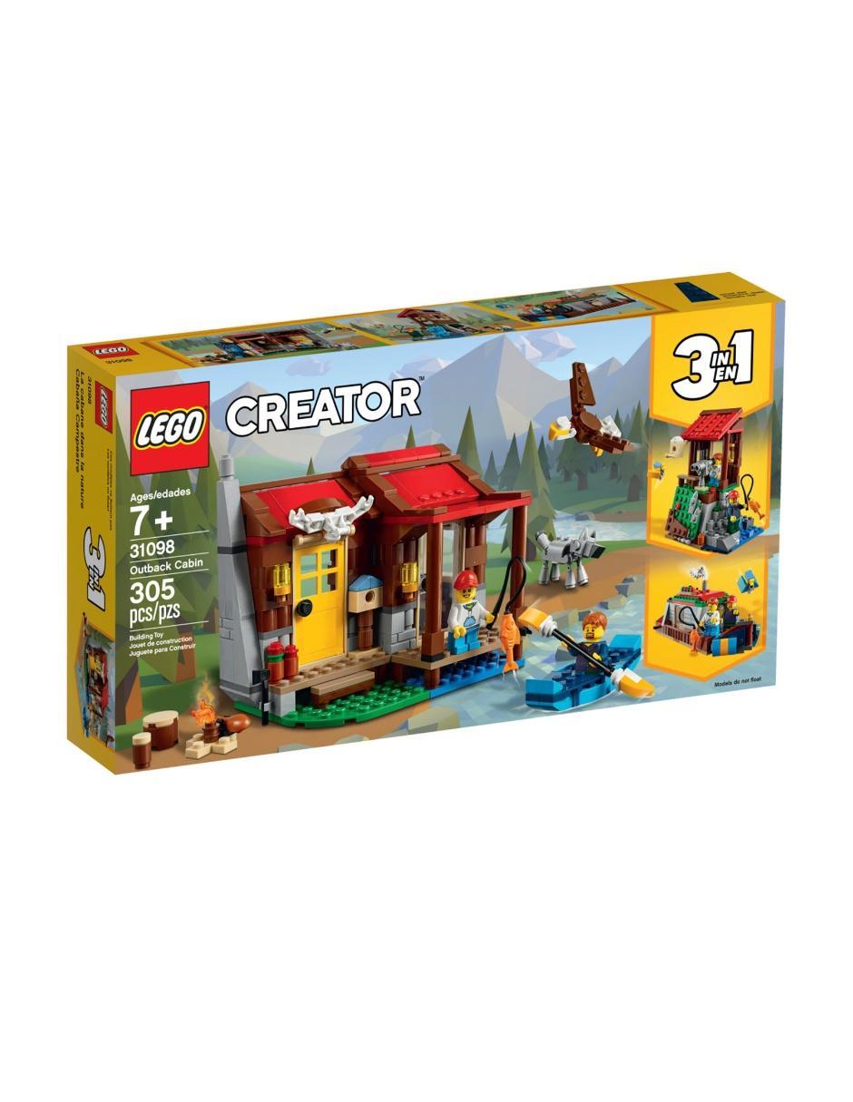 Set Construcción Cabaña De Lego Campestre Creator byIYv67fg