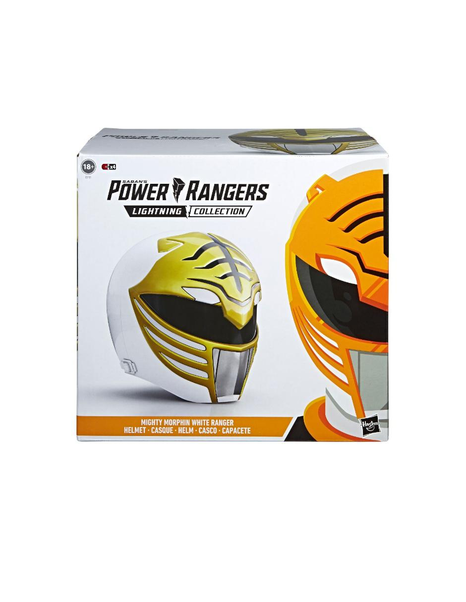 Desprecio puenting preferir  Casco White Ranger Hasbro Power Rangers Lightning Collection en Liverpool