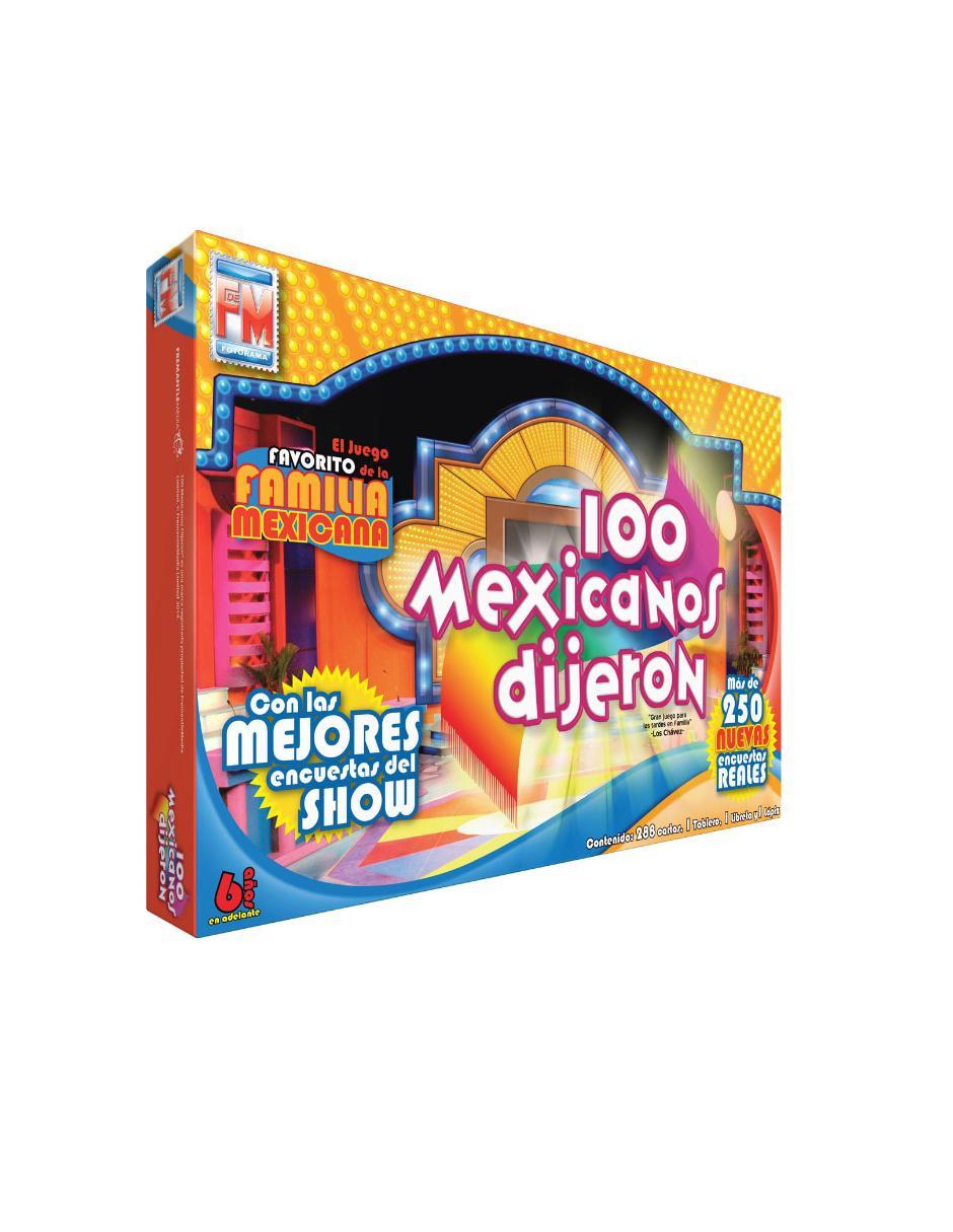 100 Mexicanos Dijeron Fotorama